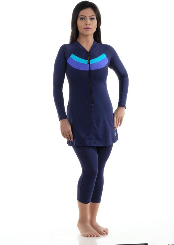 Attiva Solid Women Swimsuit