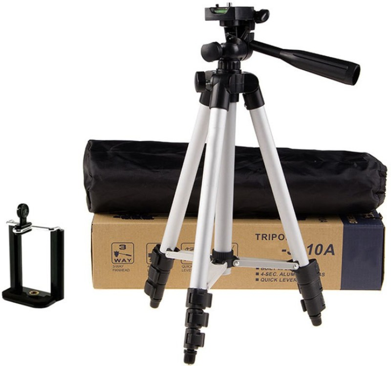 c639e1cb9 techobucks New Arrival Adjustable Portable Aluminium Lightweight Camera  Stand Tripod-3110 With Three-Dimensional