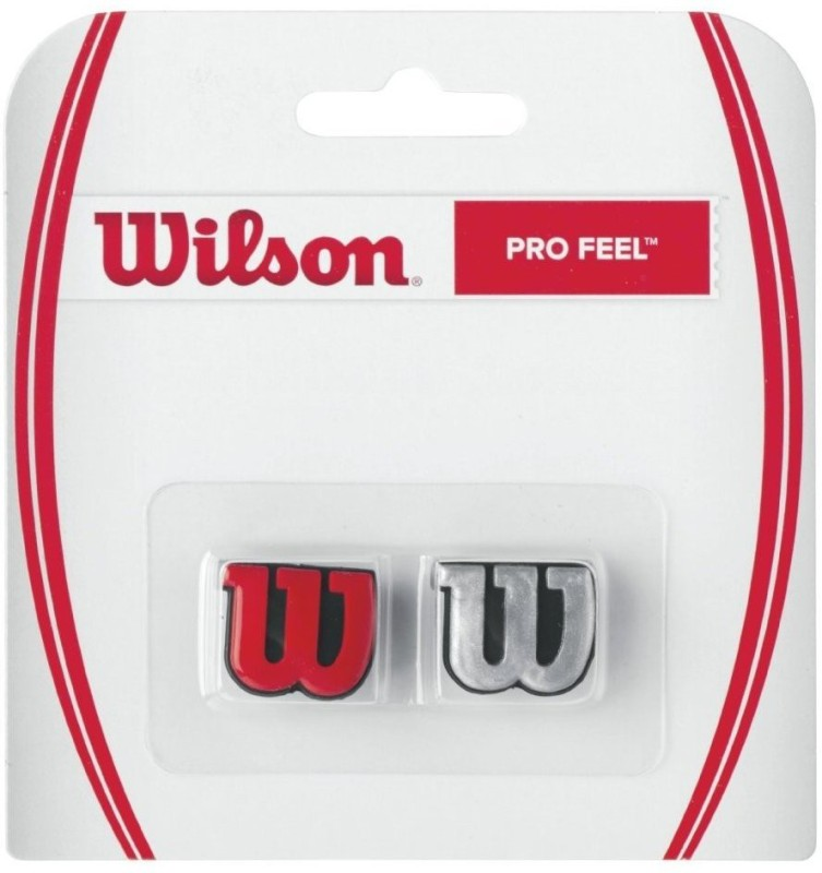 Wilson Profeel Dampener(Red, Silver, Pack of 2)