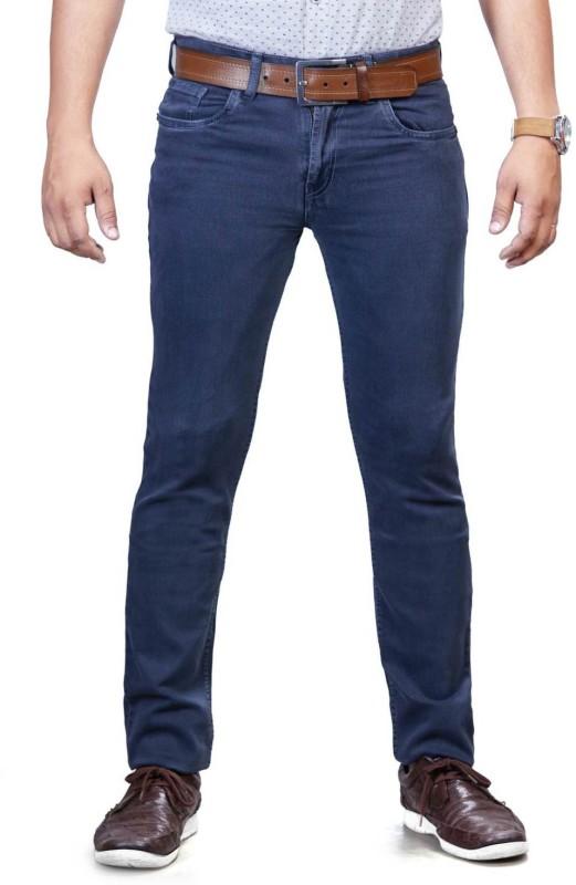 0-Degree Skinny Men Grey Jeans