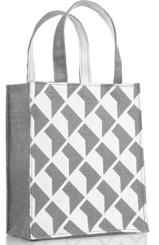 H&B Reusable Shopping Bag | Gift Bag | Tote Bag | Tiffin Bag -- Shadow - Gray Waterproof Lunch Bag(Grey, 10 L)