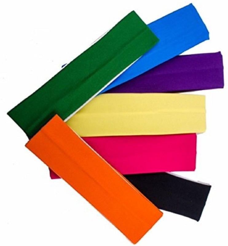 JAGTEK YOGA HEAD BAND FOR WOMEN PACK OF 5 Makeup Headband