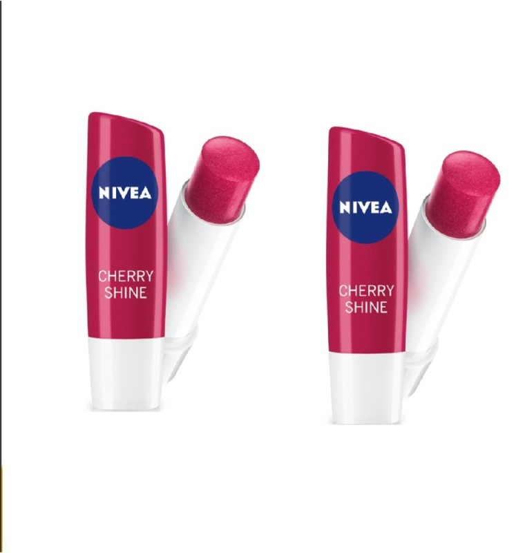 Nivea CHERRY SHINE 4.8 GM(Red)