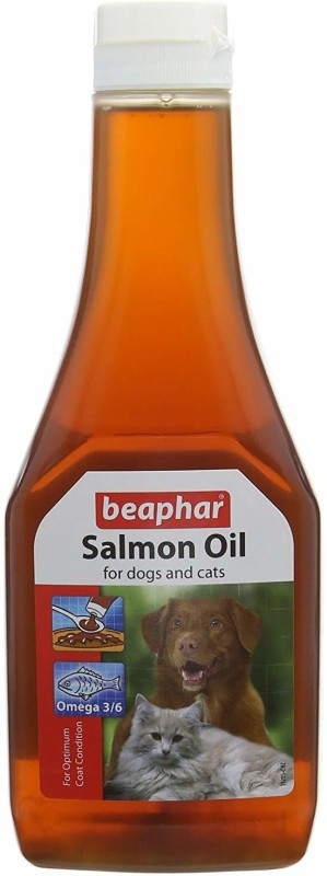 Beaphar Salmon Oil for Dog & Cat - Pet Health Supplements(425 ml)