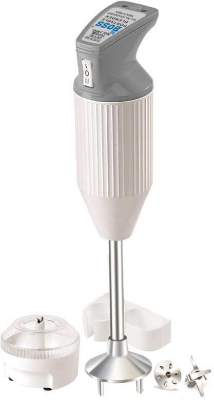 Boss E112GR 160 W Hand Blender(Grey)