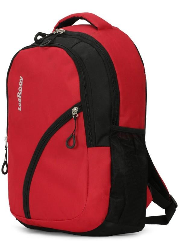 LeeRooy MN-LeeRooy 20 Ltr Nylon Black Designer Bag Laptop Backpack 30 L Laptop Backpack(Red, Black)