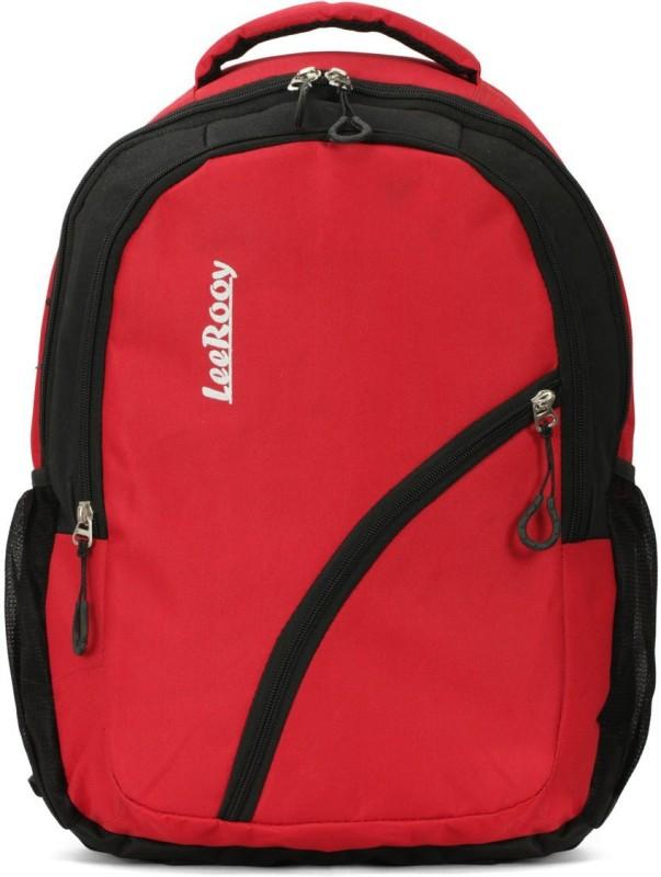 LeeRooy LEER-BG016RED 25 L Backpack(Red, Black)