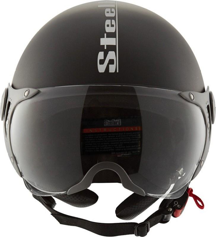 Steelbird SB-27 Style Motorbike Helmet(Matt Black)