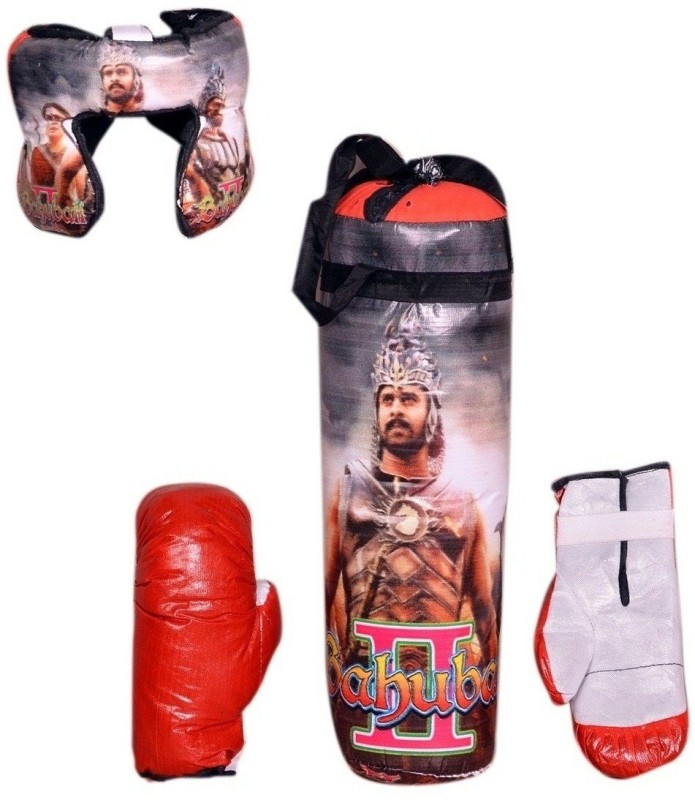 SPORTSHOLIC Kids Toy Boxing Punching kit With 2 Gloves and 1 Head guard For Boys Girls 3 To 6 Years Boxing Kit