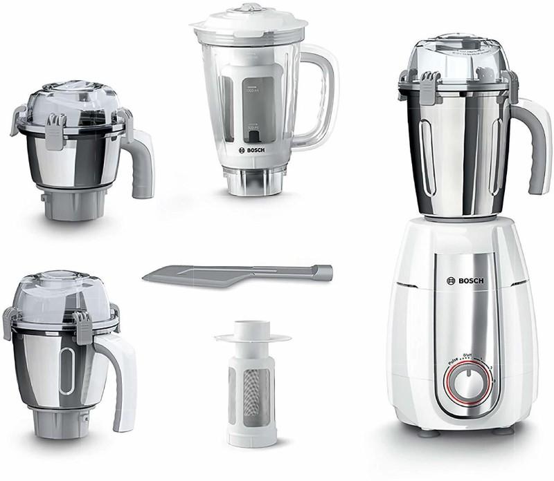 Bosch TrueMixx Premium Plus 4 jar Premium Plus 4 jar 750 Mixer Grinder(White, 4 Jars)