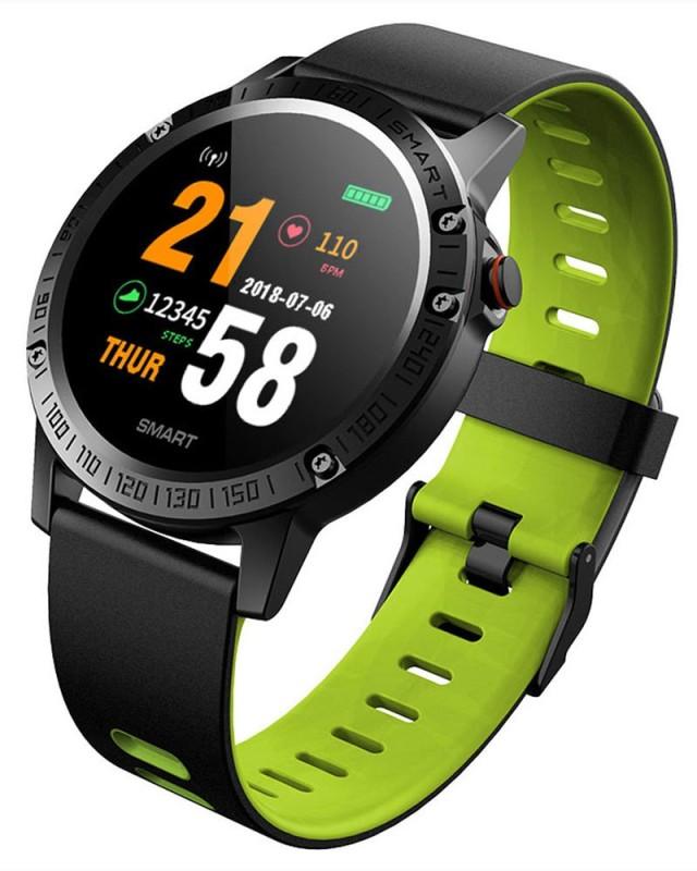 Bingo F6 Smart Fitness Band (Green)(Green Strap, Size : Normal)