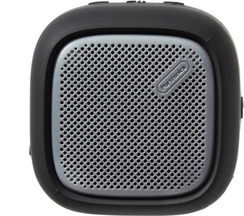 Portronics POR-939 Portable Bluetooth Speaker with FM (Black) 5 W Bluetooth Speaker(Black, Stereo Channel)