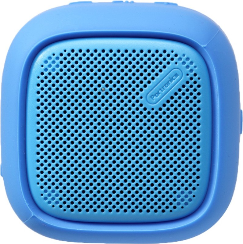 Portronics Bounce POR-952 Portable Bluetooth Speaker with FM (Blue) 5 W Bluetooth Speaker(Blue, Stereo Channel)