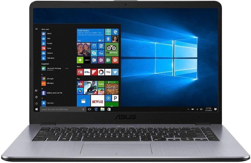 Asus VivoBook Ryzen 5 Quad Core - (4 GB/1 TB HDD/Windows 10 Home) X505ZA-EJ505TX505Z Thin and Light Laptop(15.6 inch, Grey Metal, 1.68 kg)