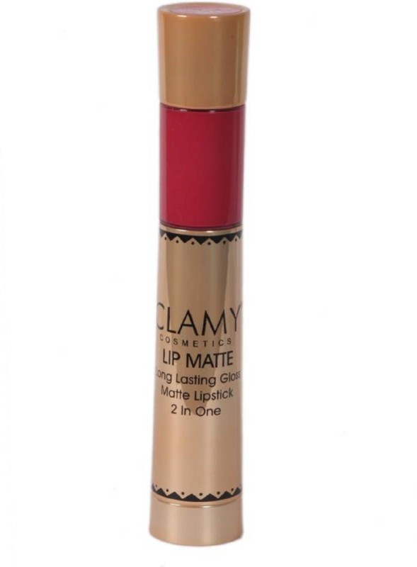 Clamy Ultra Smooth Lip 2 in 1 Roasty Red(Red, 6 g)