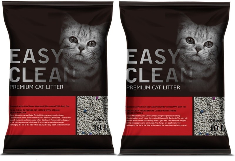 Emily Pets Rose Flavor 10L Pack of 2 Pet Litter Tray Refill