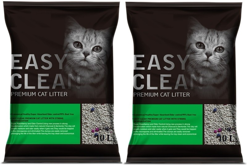Emily Pets Flavor 10L Pack of 2 Pet Litter Tray Refill