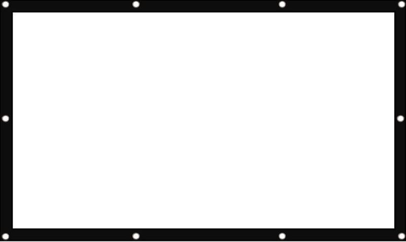 Egate PROJECTOR SCREEN 7 X 5 FT FLEXI WRAP Projector Screen (Width 213 cm x 150 cm Height)