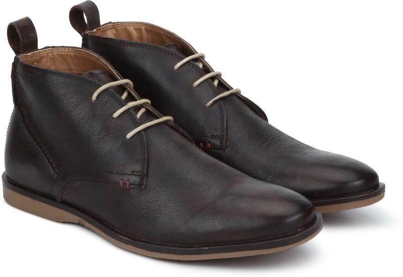 Ruosh SS-19 VENICE-06 Corporate Casuals For Men(Brown)