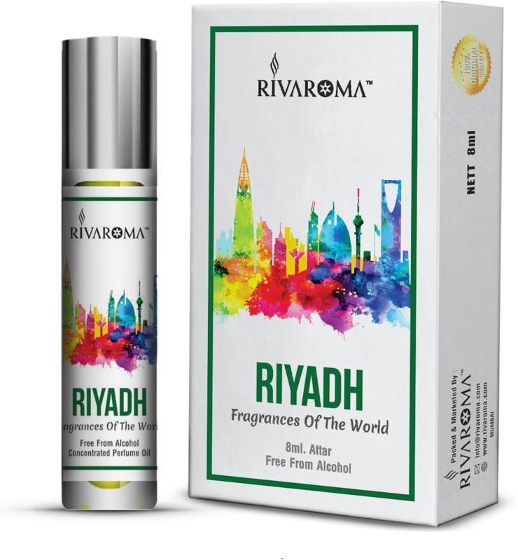Rivaroma Roll On ( RIYADH ) 8 ml Floral Attar(Floral)