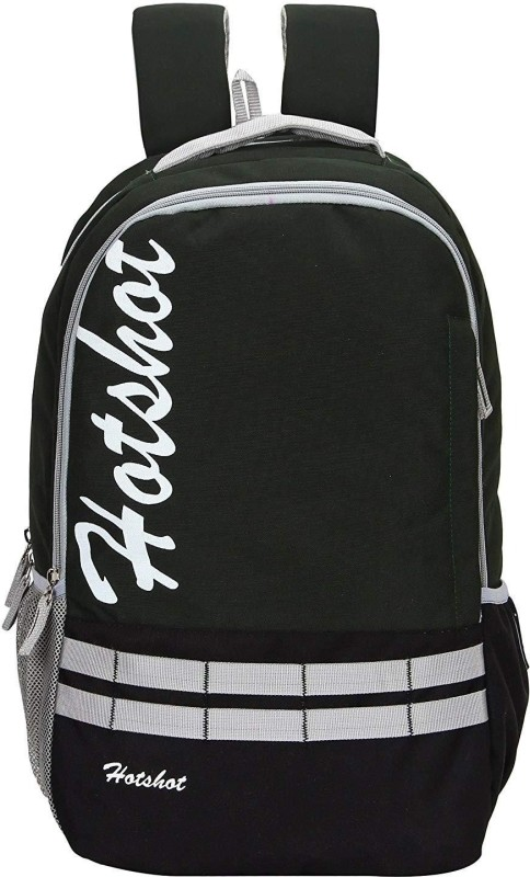 Hot Shot Casual Backpack Art_0354 30 L medium size Backpack(Green, Black)