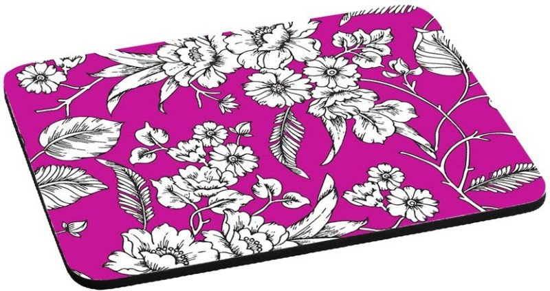 RADANYA Animated Flower RDPD-02-24 Mousepad(Violet)