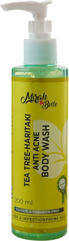 Mirah Belle Naturals Tea Tree – Haritaki Anti Acne Body Wash(200 ml)