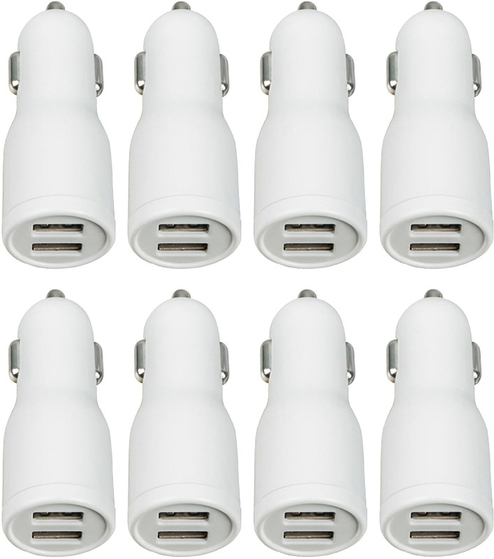 ERD 2 Amp Car Charger(White, With USB Cable)