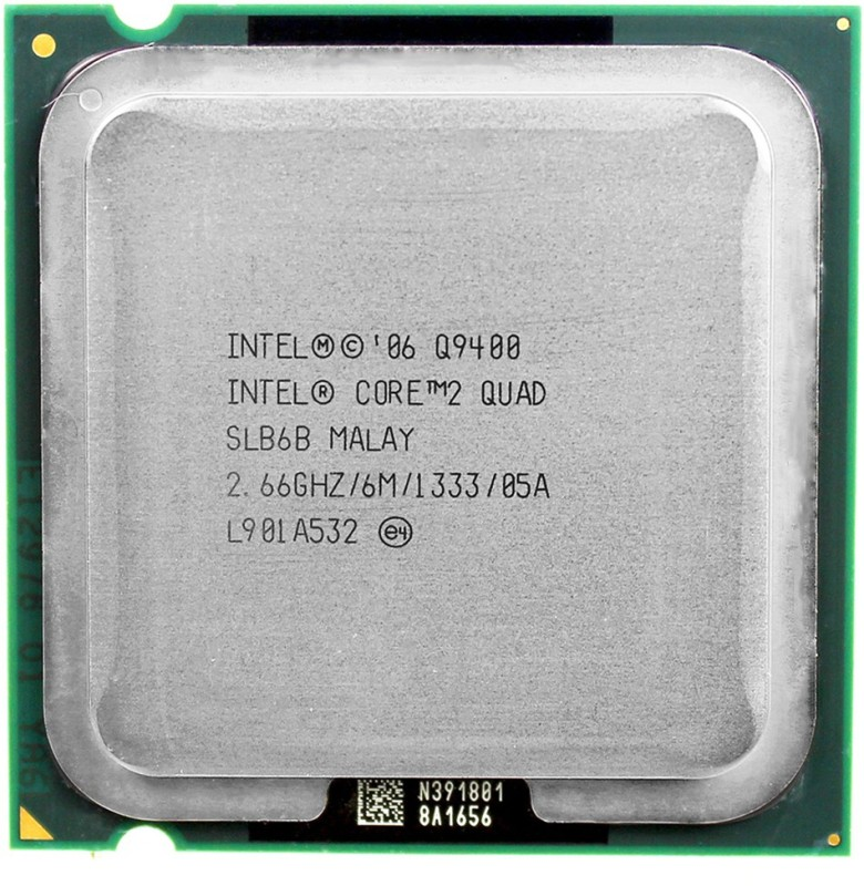 Intel Quadcore 2.66 GHz LGA 775 Q9400 Desktop Processor(Silver)