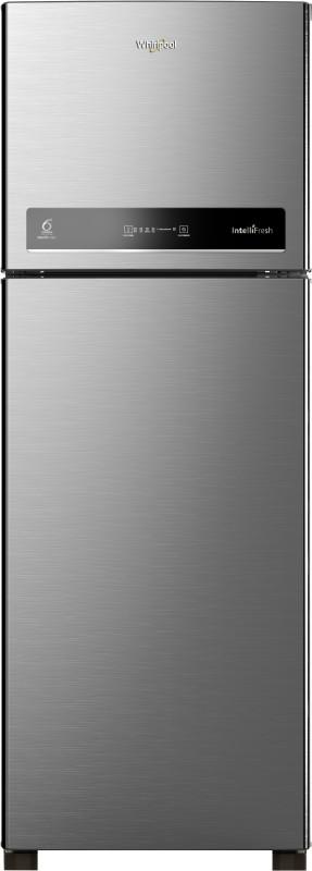 Whirlpool 292 L Frost Free Double Door 4 Star Refrigerator(Magnum Steel, IF INV 305 ELT Magnum Steel (4S))