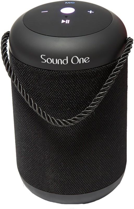 Sound One Drum Portable 10 W Bluetooth Speaker(Black, 4.2 Channel)