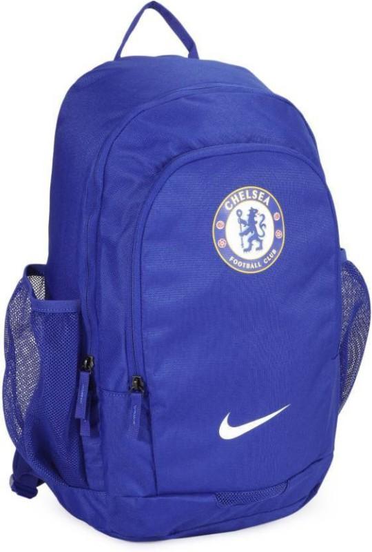 Nike Stadium Chelsea SC Laptop Backpack(Blue, Backpack)