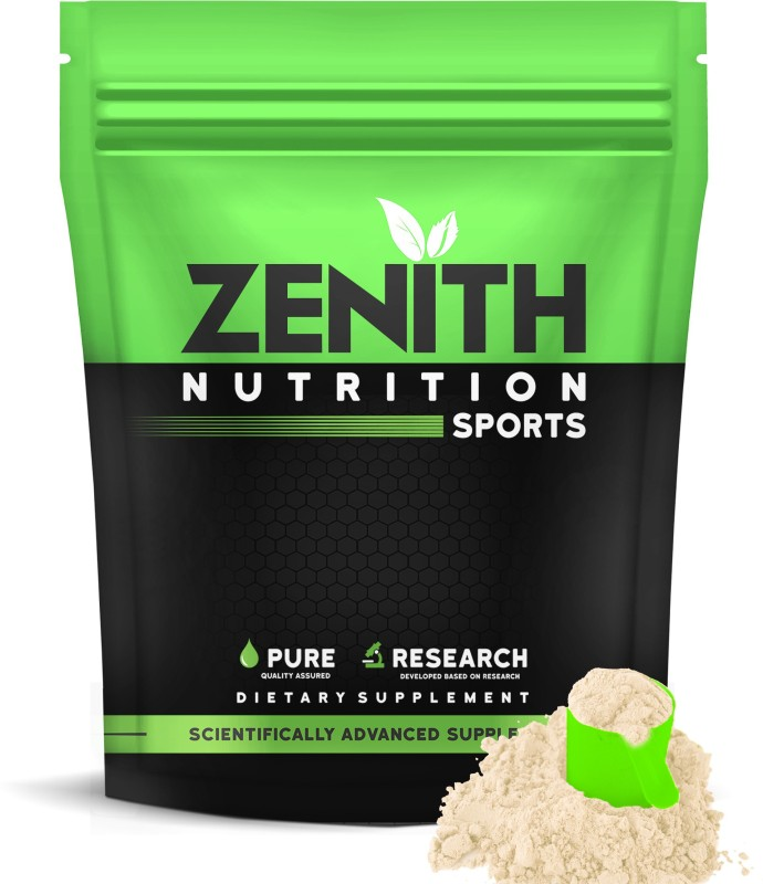 Zenith Nutrition  Mass Gainer++ with Enzyme|17g Protein|51g Carbs - 1500gms (French Vanilla) Weight Gainers/Mass Gainers(1500, French Vanilla)