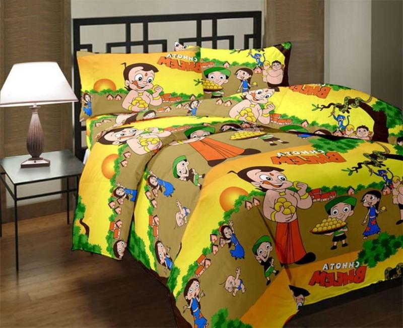 JP CRAFT Cartoon Single Dohar(Poly Cotton, Multicolor)
