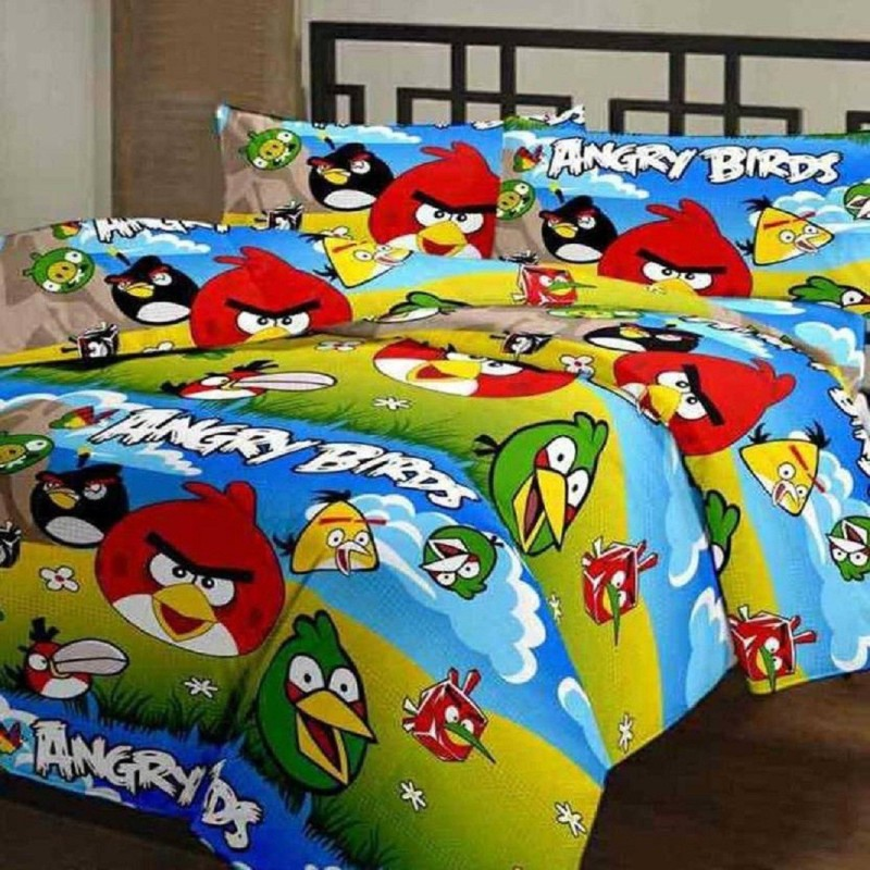 JP CRAFT Cartoon Single AC Blanket(Poly Cotton, Multicolor)