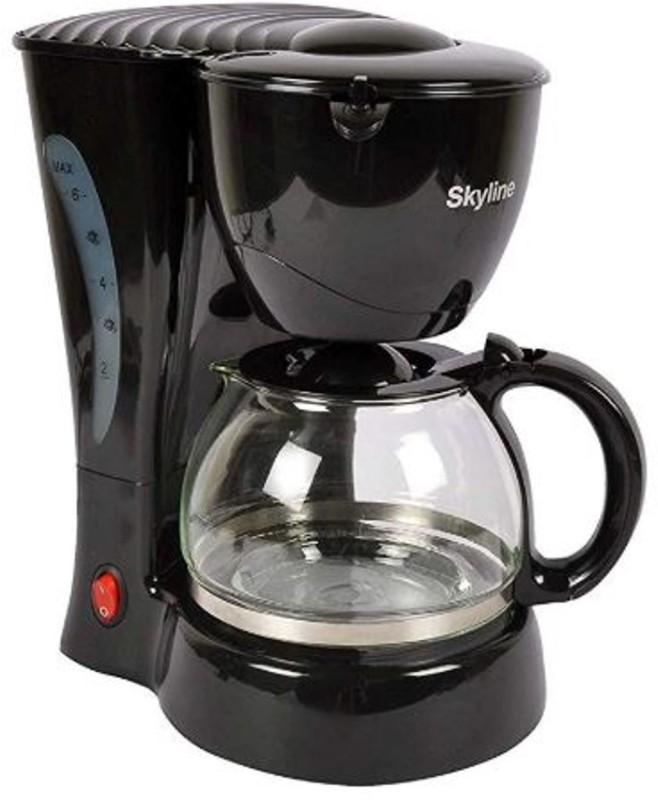 Skyline VT-7011 12 cup Drip 12 Cups Coffee Maker(Black)