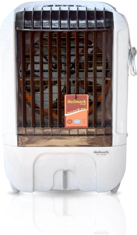 INLAND COOLERS HALLMARK759KAMAJUNIOR Room/Personal Air Cooler(White, Brown, 35 Litres)