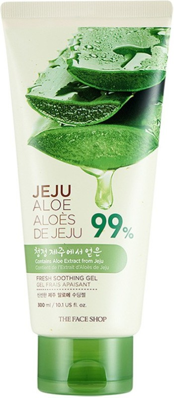 The Face Shop Jeju Aloe Fresh Soothing Gel Tube(300 ml)