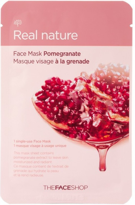 The Face Shop Real Nature Pomegranate Sheet Mask(20 g)