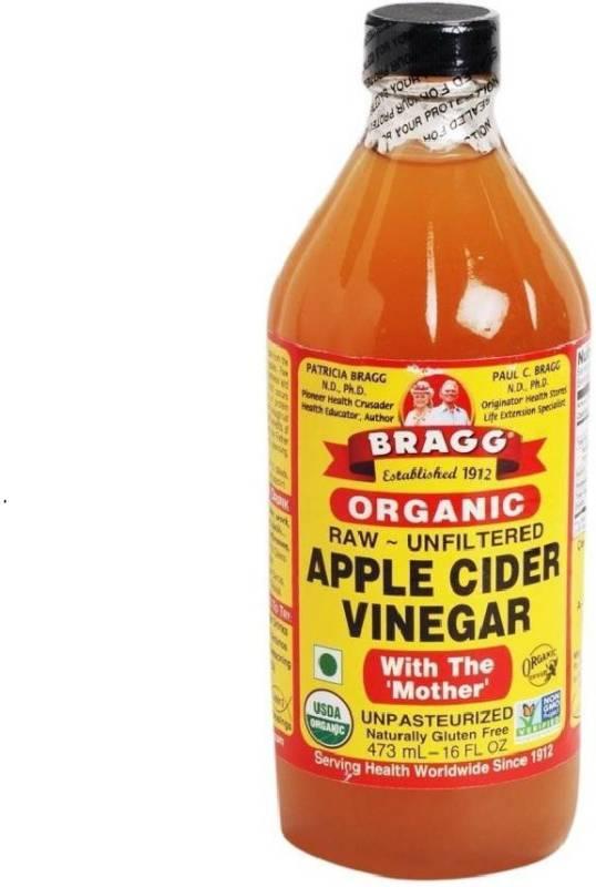 bragg ORGANIC RAW UNFILTERED APPLE CIDER VINEGAR Apple Cider Vinegar (473 ml, Apple Flavored)