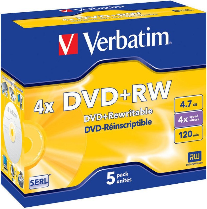 Verbatim DVD Rewritable Jewel Case 4.7 GB