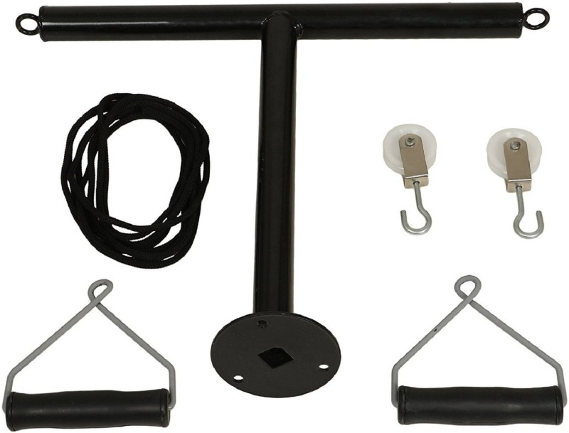AMAZEPHYSIOSOLUTIONS T-Pulley (Shoulder Pulley) APS051 Climbing Pulley(Black)