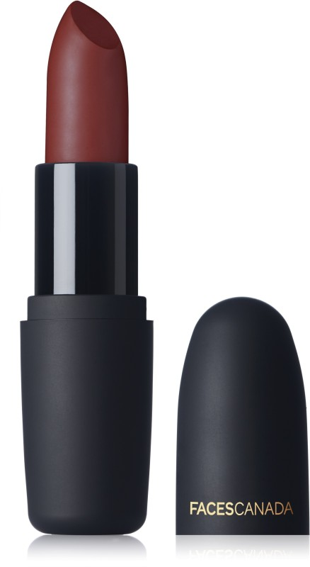 Faces Canada Weightless Matte Finish Lipstick(Kissed Ruby 13, 4 g)