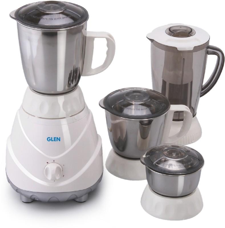 GLEN 4022 Plus SA4022PLUS_New 750 Mixer Grinder(White, 4 Jars)