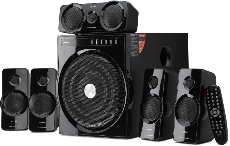 F&D F6000X 135 W Bluetooth Home Audio Speaker(Black, 5.1 Channel)