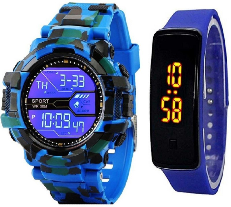 STANDARD CHOICE NEW MILITARY DIGITAL LED SPORTS WATCH FOR BOYS AND MEN NEW GENERATIONS African style NEW LOOK NEW MODEL NEW YEAR STYLE Digital Watch - For Boys