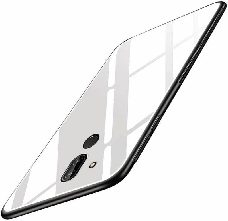 mCase Back Cover for Nokia 8.1(White, Shock Proof)