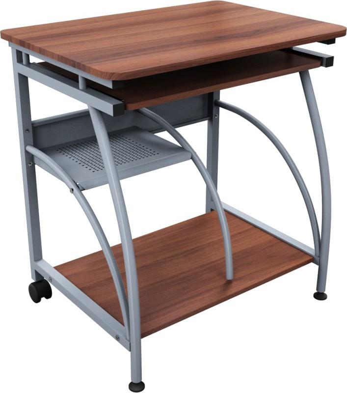 Godrej Interio Caliber 203 Engineered Wood Computer Desk(Straight, Finish Color - Walnut)