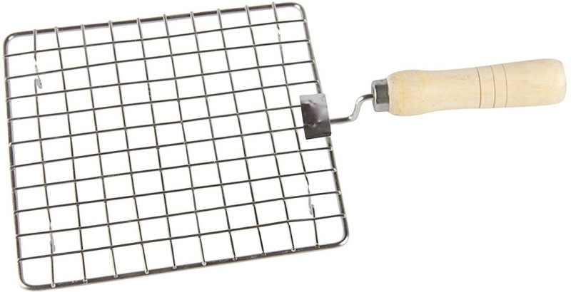 Shrih Stainless Steel Square Jali With Handle Rib Roaster Grill(Pack of 1)