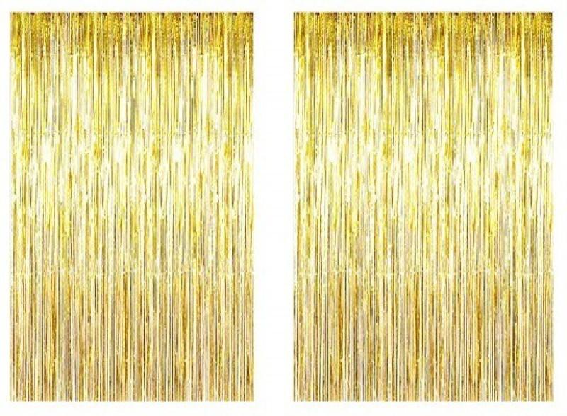 check MRP of metallic gold curtains PartyballoonsHK